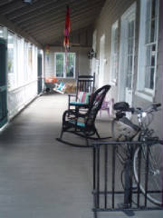 Cottage Porch for Prime Time Fitness on Sullivan's Island SC