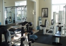 Fitness studio in Sullivans Island cottage