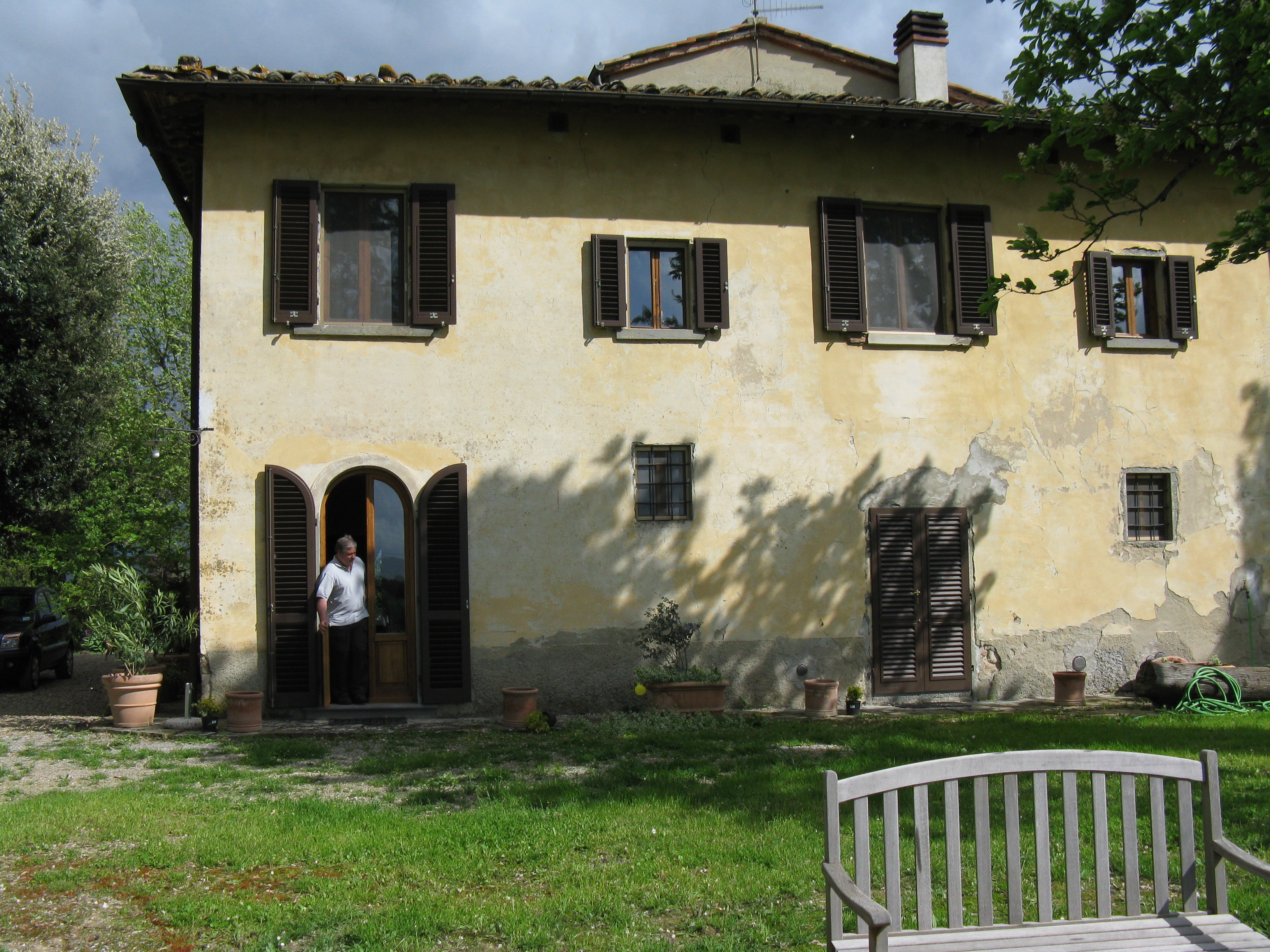Rental villa in Tuscany